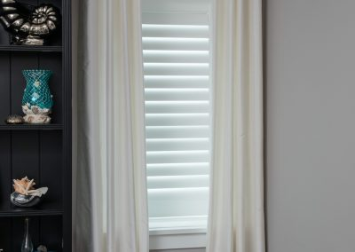 White Grommet Drapes