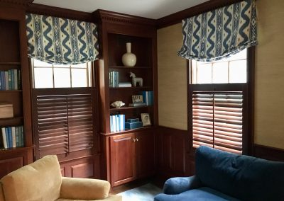 Relax Roman Valance with Shutters