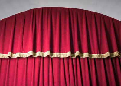 Arched Valance for Stage