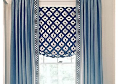 Drapes with Relax Roman Valance