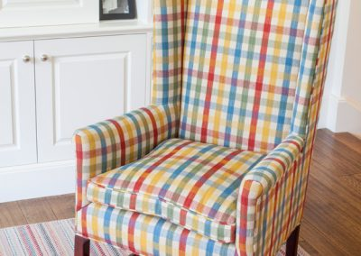 Plaid Slipcover