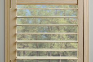 Hunter Douglas New Style shutter, plantation shutter, shutter, large louver size, white shutter, blinds, shades,